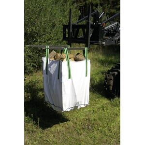 Vedsekk Big bag 1000 liter