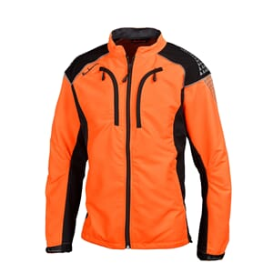 Timbermen skogsjakke Light - Orange/svart